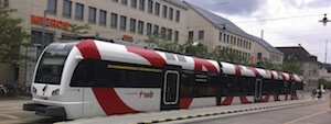 Frauenfeld wil Bahn vor EKZ Passage