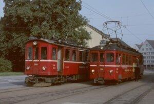 FW Triebwagen in Frauenfeld Stadt