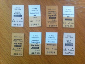 Kartonbillette