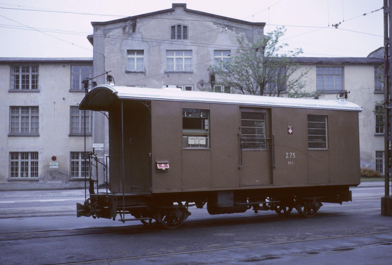 Postwagen Z 75