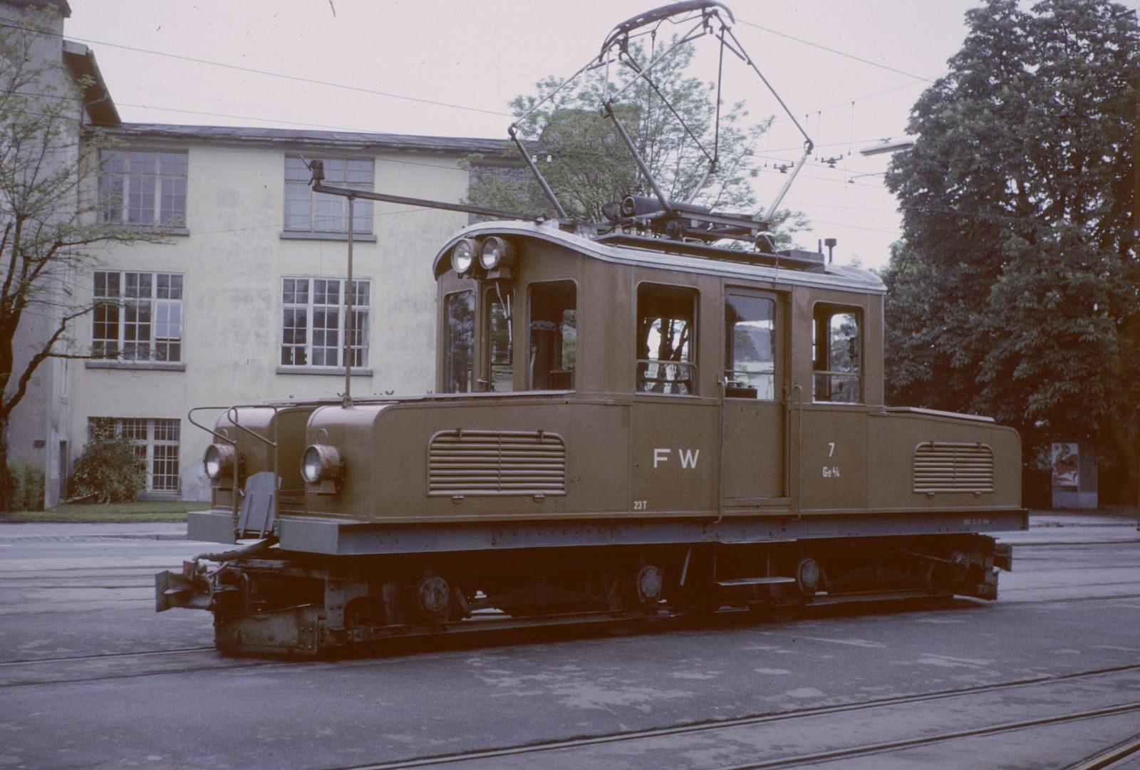 Güterlokomotive Frauenfeld Wil Bahn