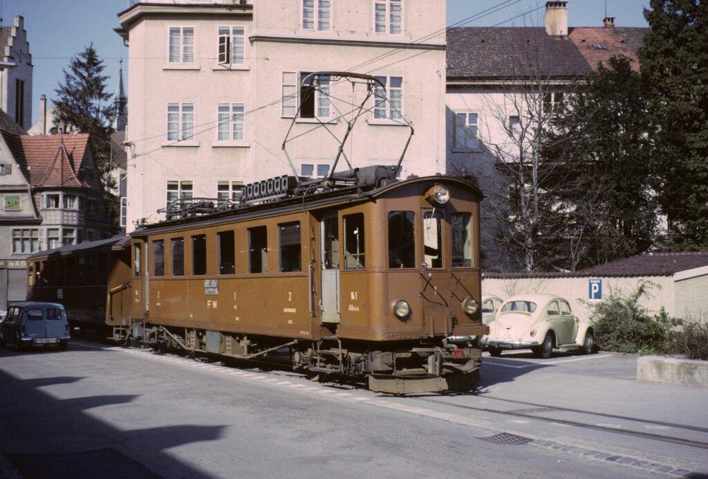 FW Triebwagen Nr. 1