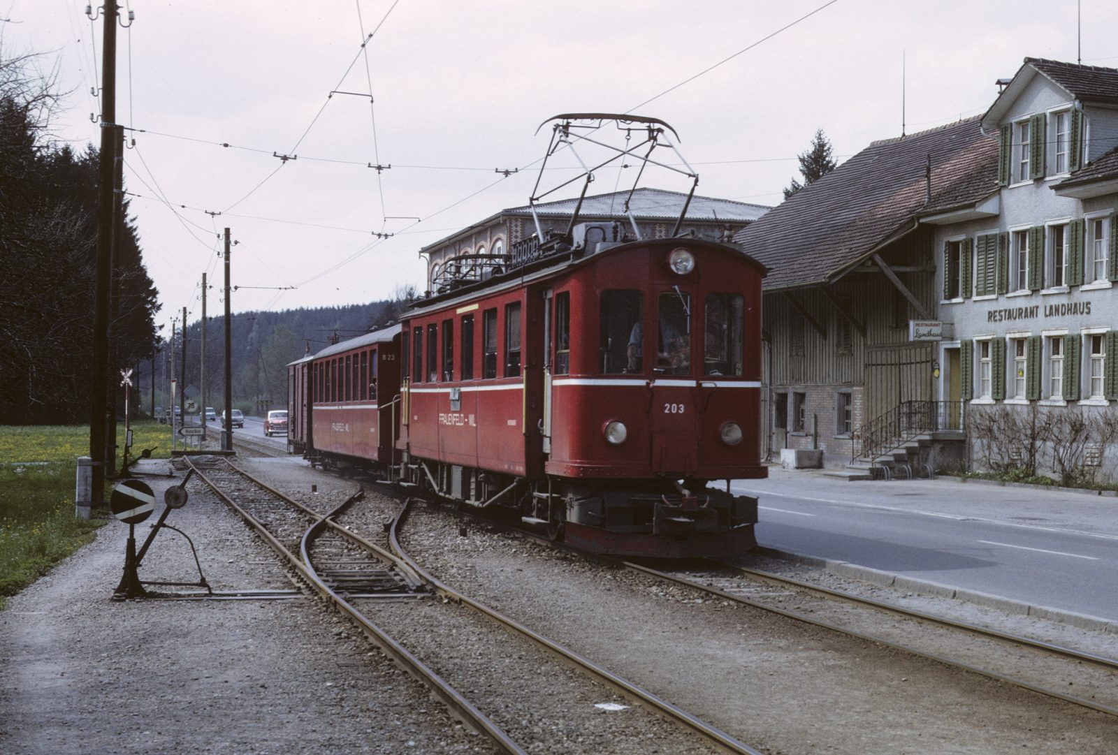 Wilerbahn in Rosental