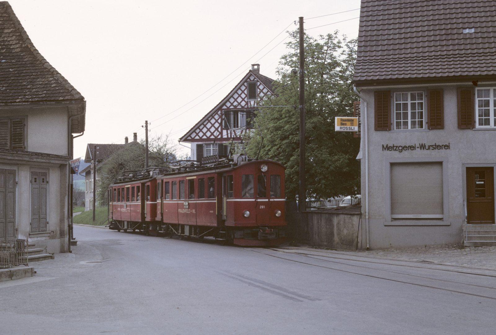 Triebwagen Frauenfeld Wil Bahn
