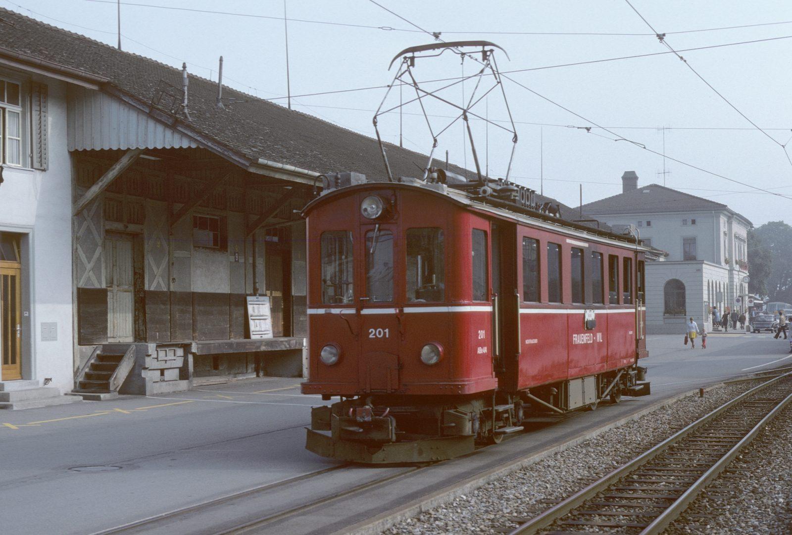 Wilerbahn Frauenfeld SBB