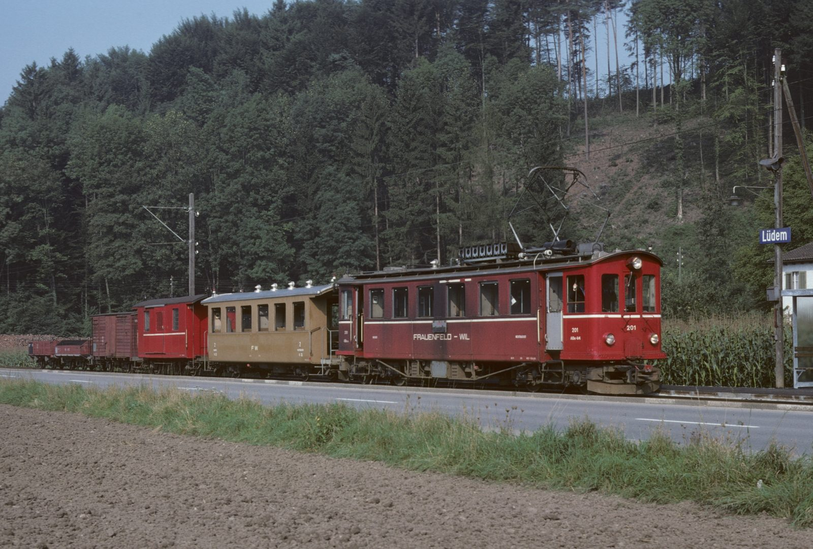 Frauenfeld Wil Bahn lüdem