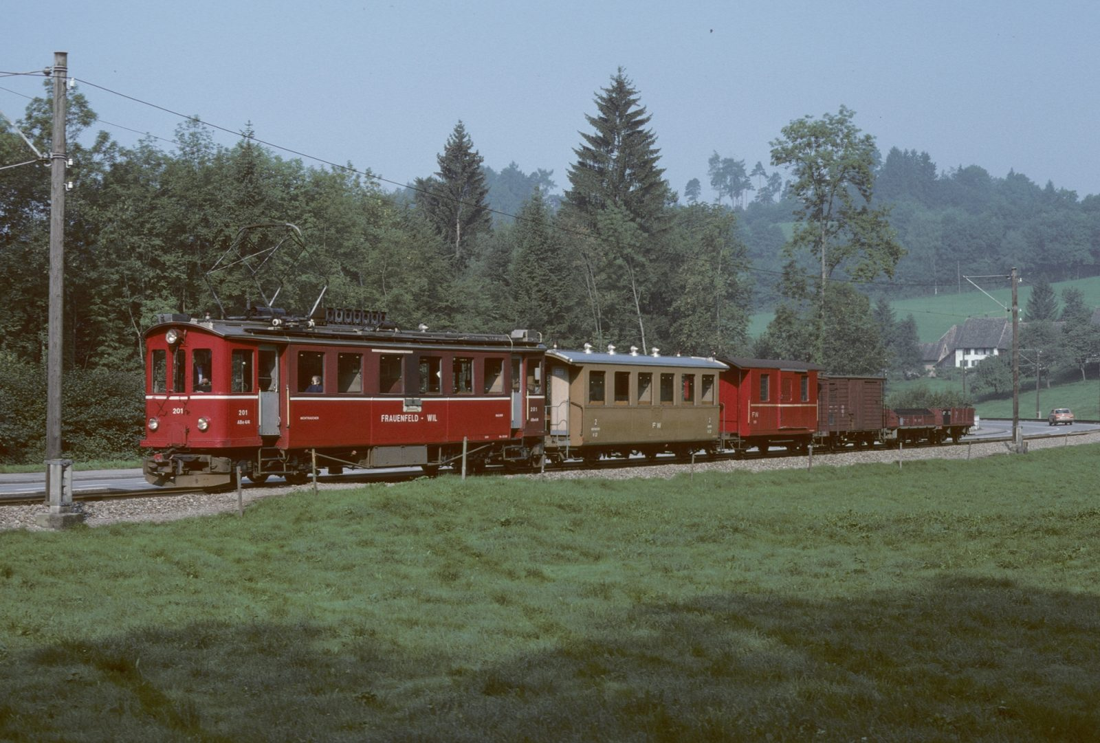 Wilerbahn Talkurve Frauenfeld