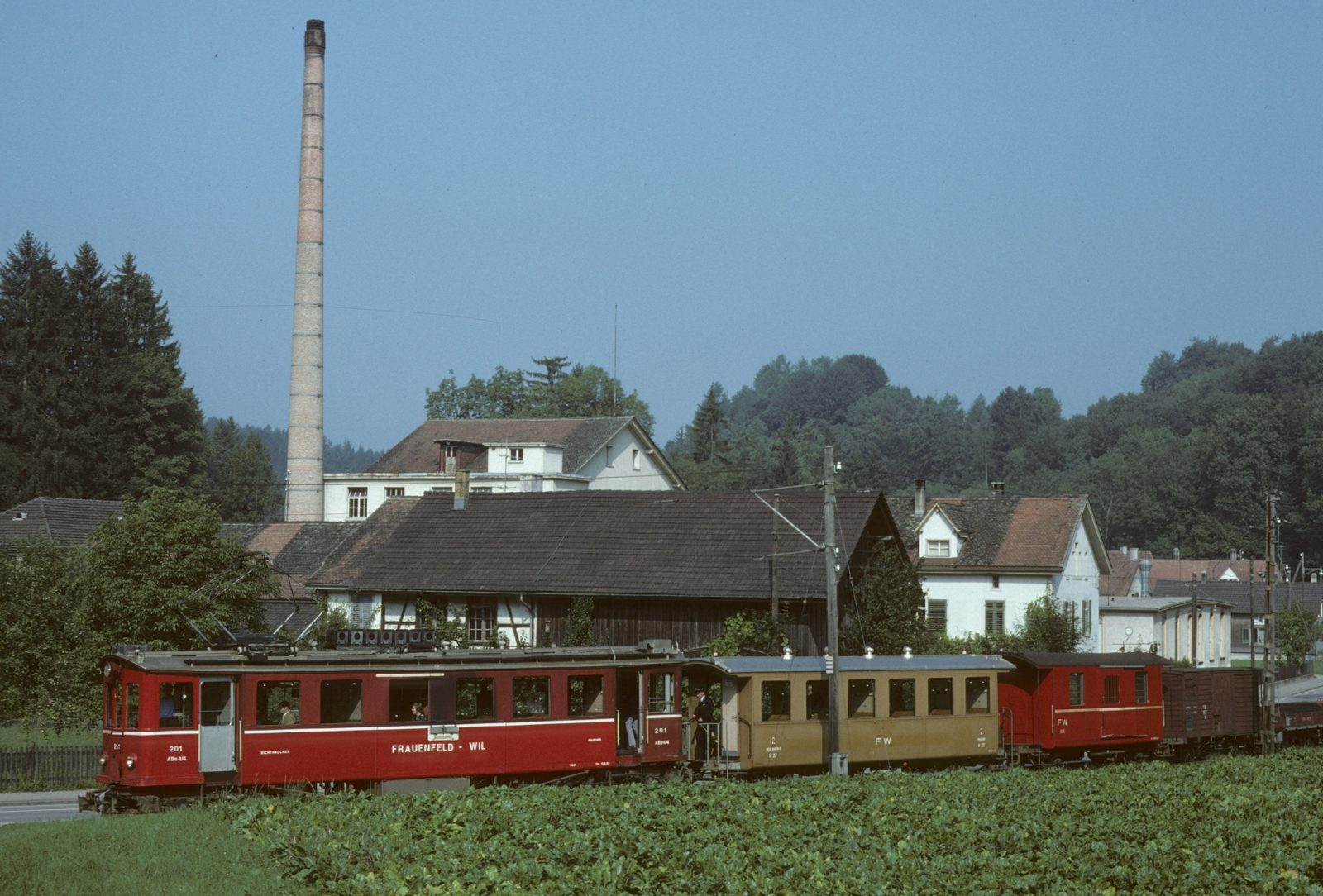 Frauenfeld Wil Bahn Murkart