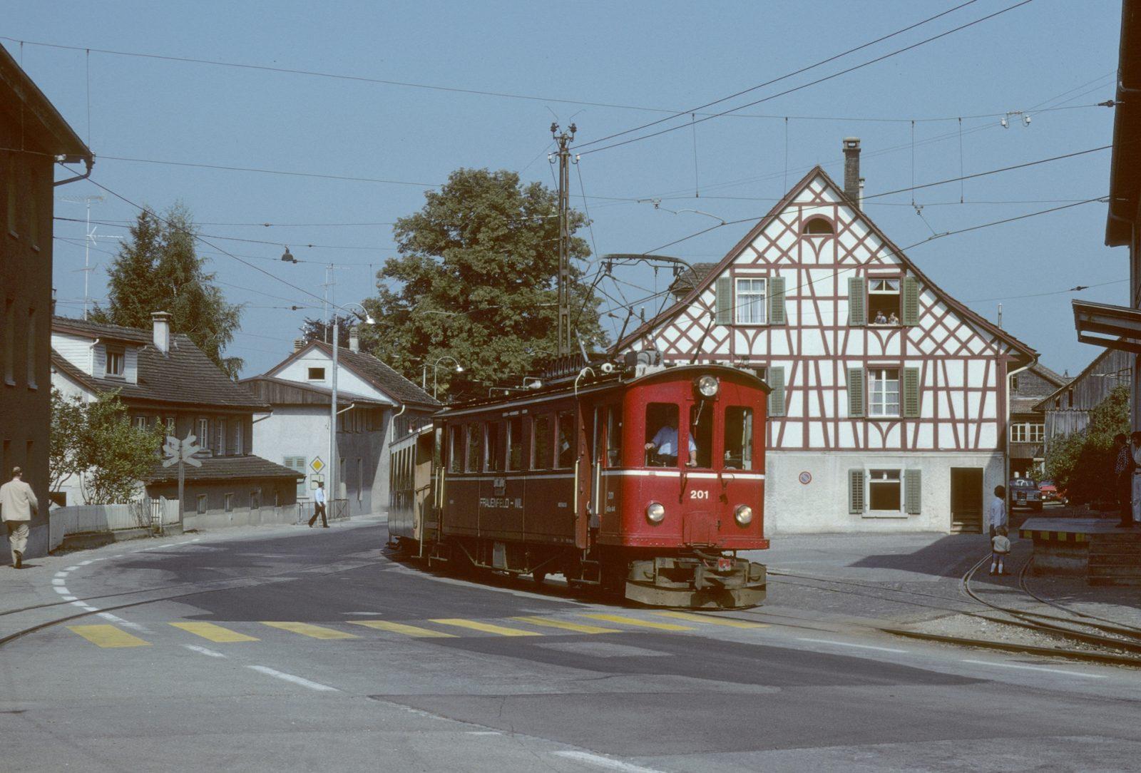 Frauenfeld Wil Bahn Wängi