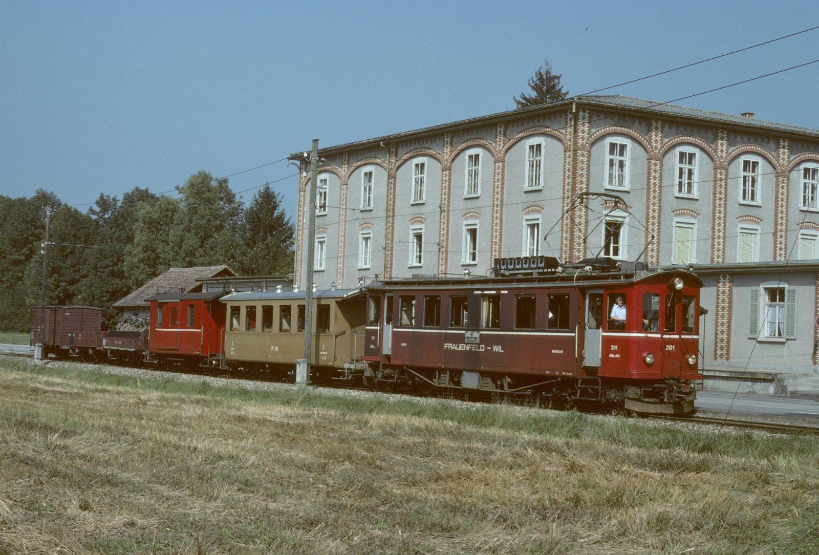Frauenfeld Wil Bahn Rosental