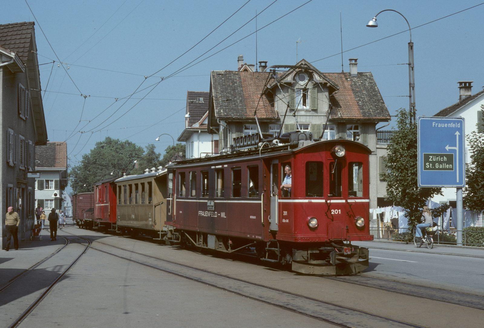 Frauenfeld Wil Bahn Münchwilen