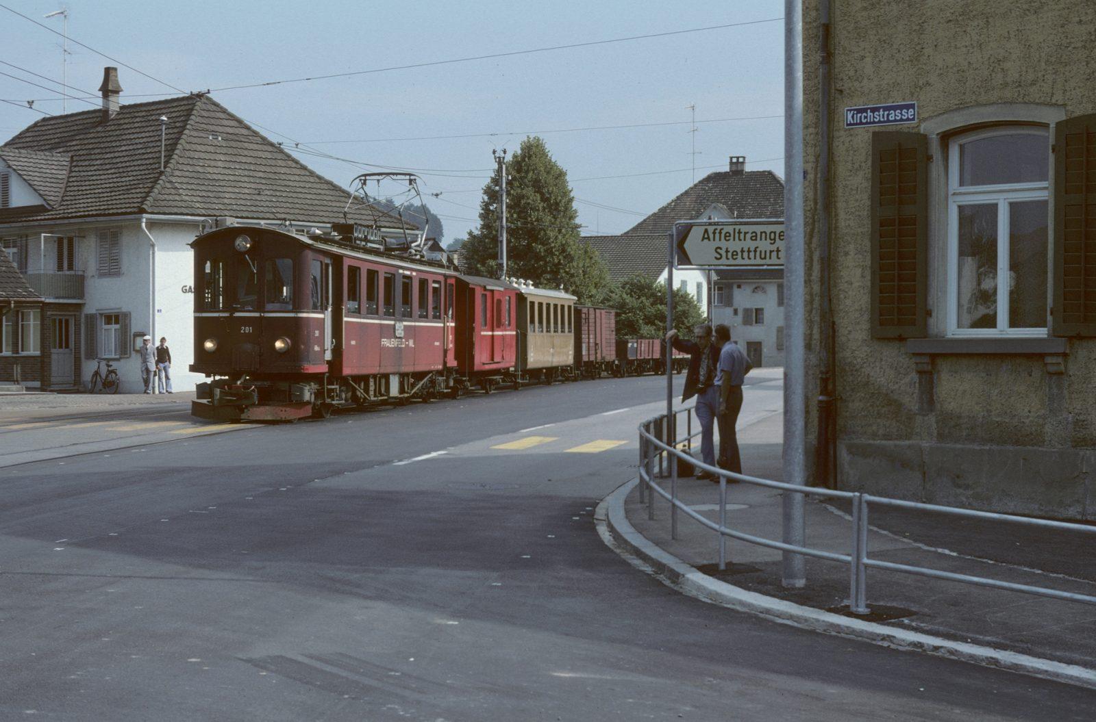 Wildbahn alte Station Matzingen