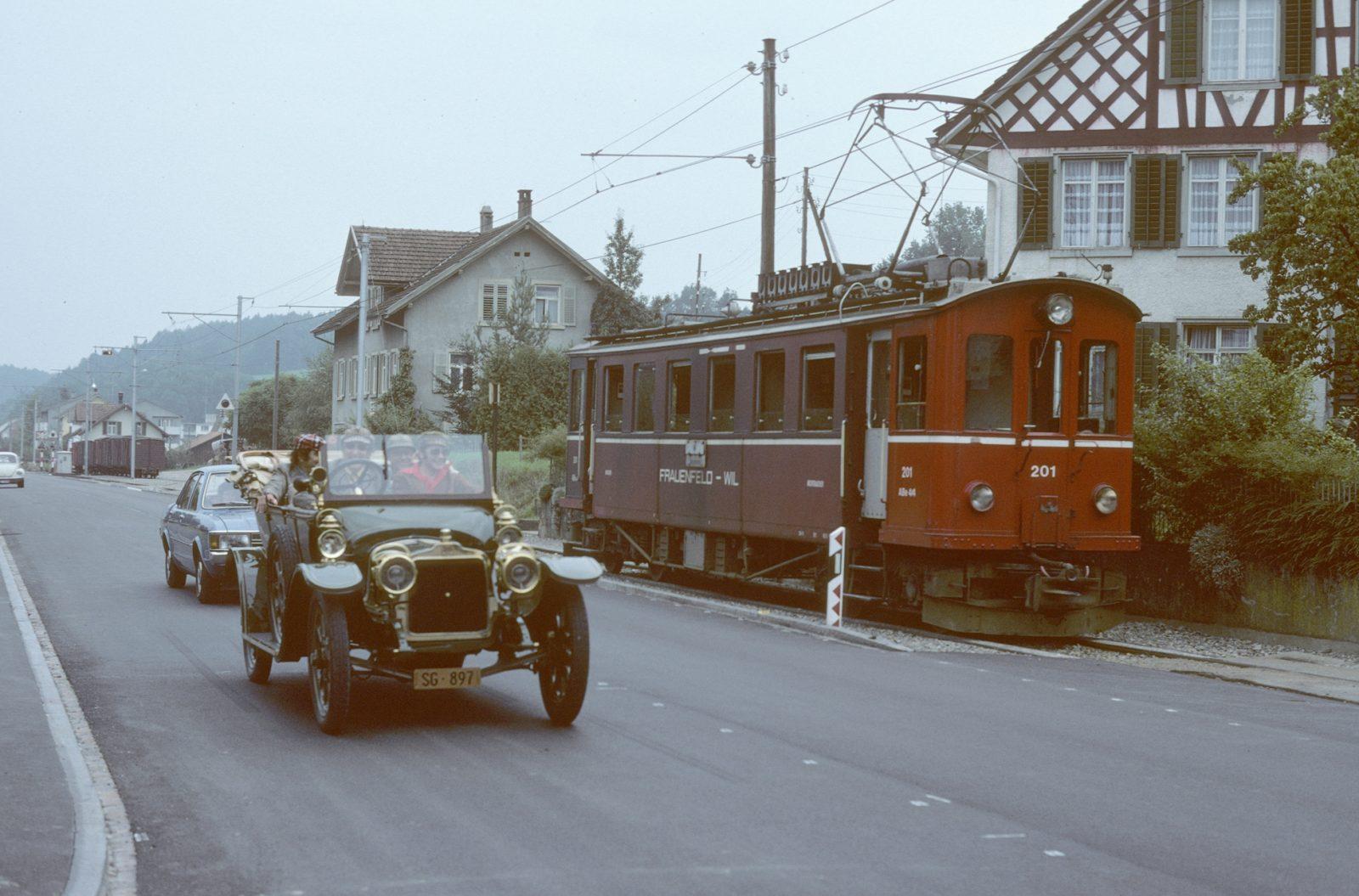 Frauenfeld Wil Bahn Triebwagen Matzingen Umland