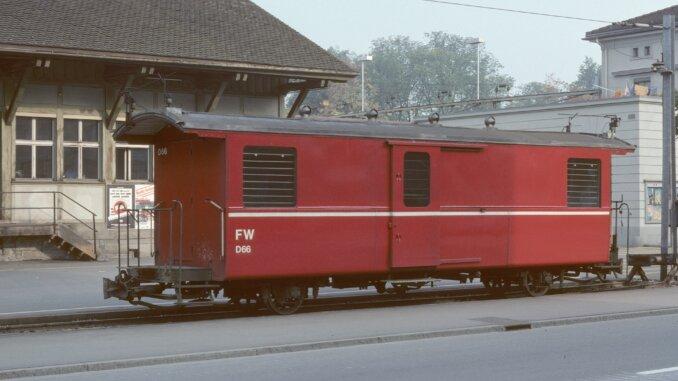 Postwagen Wilerbahn