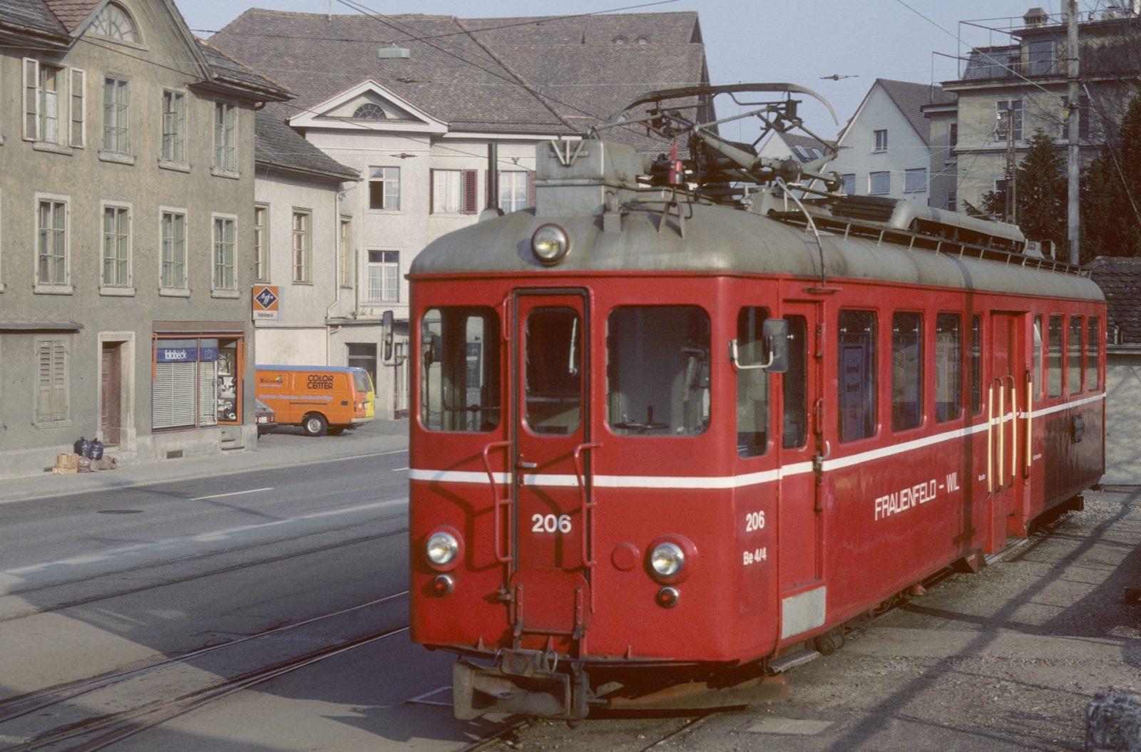 Frauenfeld Stadt Triebwagen