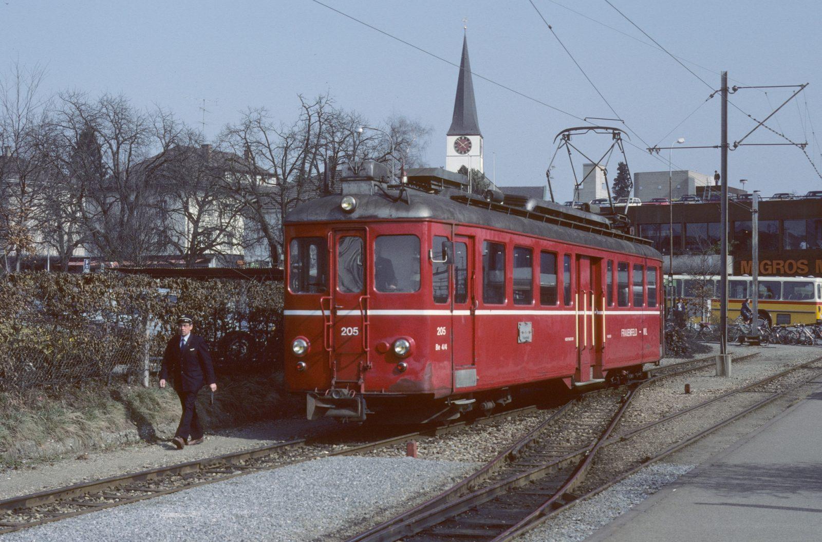 Frauenfeld Wil Bahn alte Station Wil