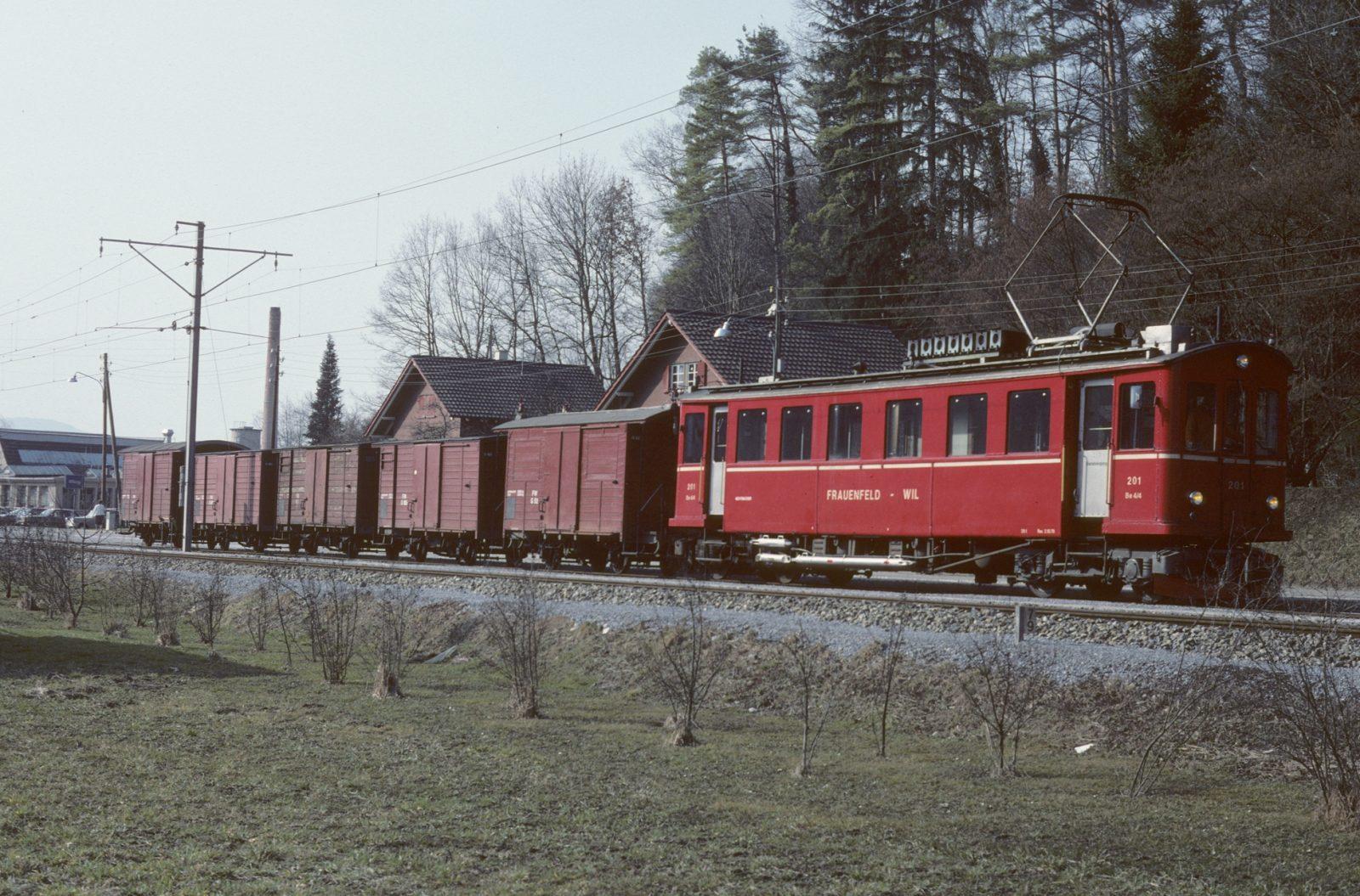 Güterzug in Wängi