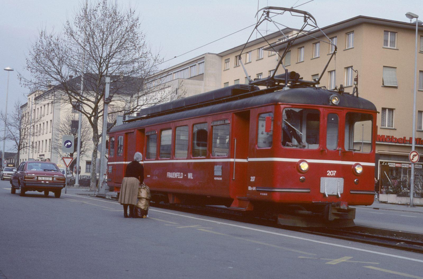 ex BTI Triebwagen Frauenfeld SBB