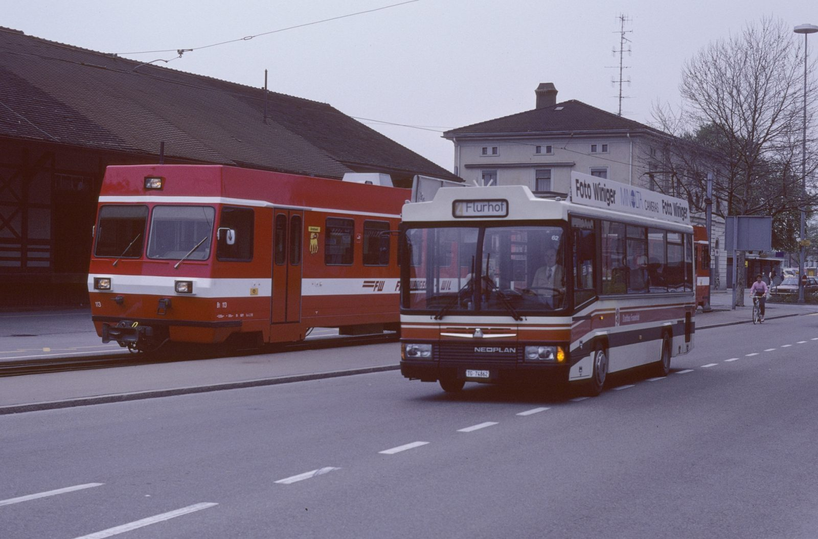 Wilerbahn Frauenfeld Stadtbus