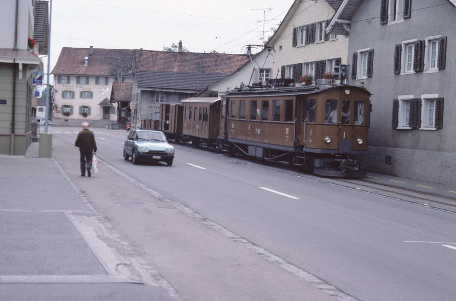 Nostalgie Zug Münchwilen
