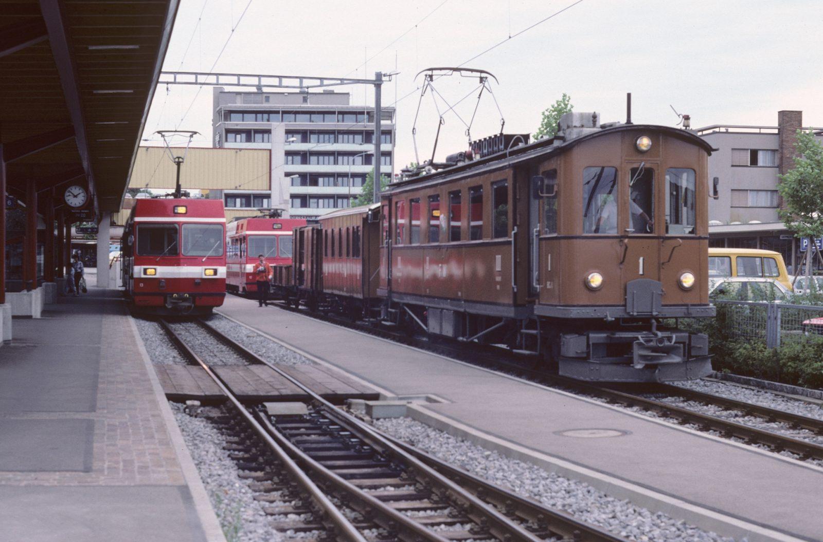 Historischer Triebwagen Frauenfeld Wil Bahn