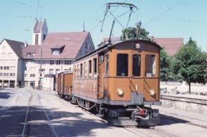 Orginaltriebwagen Frauenfeld Wil Bahn