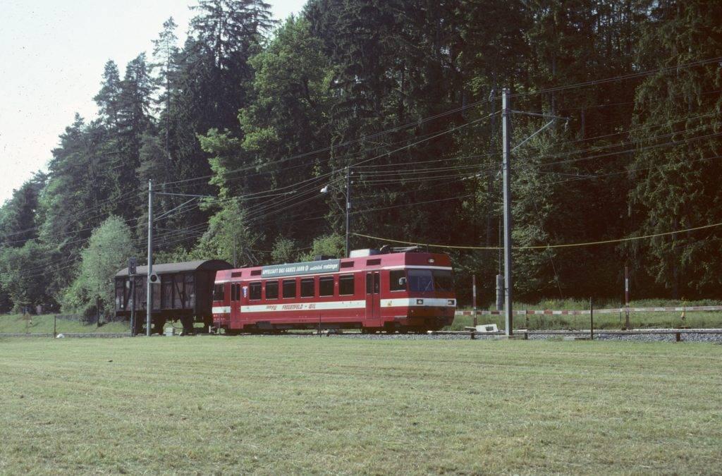 Rollbockzug Frauenfeld Wil Bahn