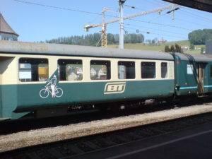 Bodensee Toggenburg Bahn Velo Wagen