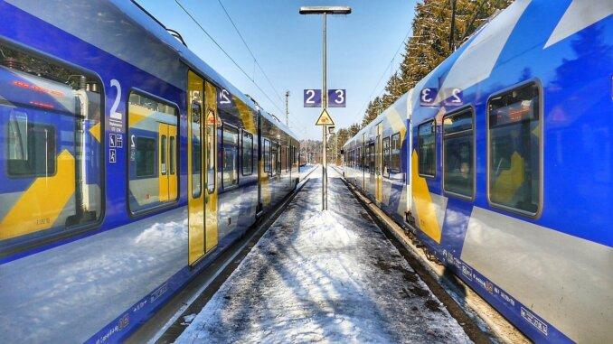 S.Bahn am Bahnhof