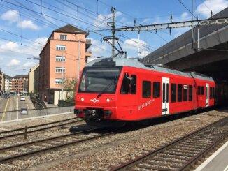 Uetliberg-Bahn Triebwagen Bahnland Schweiz