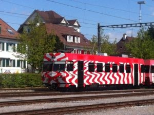 Zug der FW Bahn