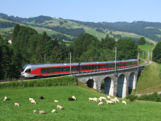 FLIRT Triebzug Toggenburg SOB Südostbahn