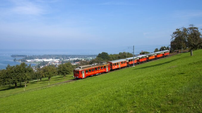 Bodensee schifffahrt Zahnradbahn
