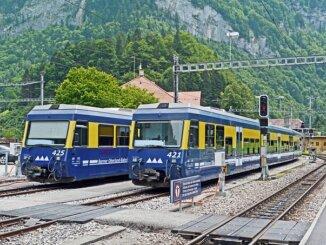 Switzerland Jungfrau Region Bob Berner Oberland Bahn