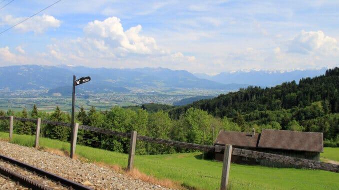 Appenzeller Zahnradbahnen Appenzellerland