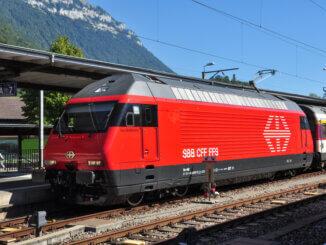 SBB Lok Geschichte Schweizer Bahn