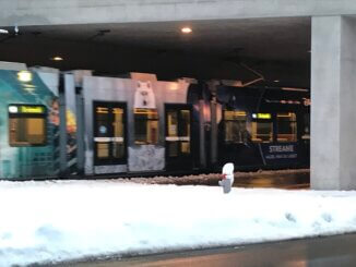 Schnee VBZ Tram